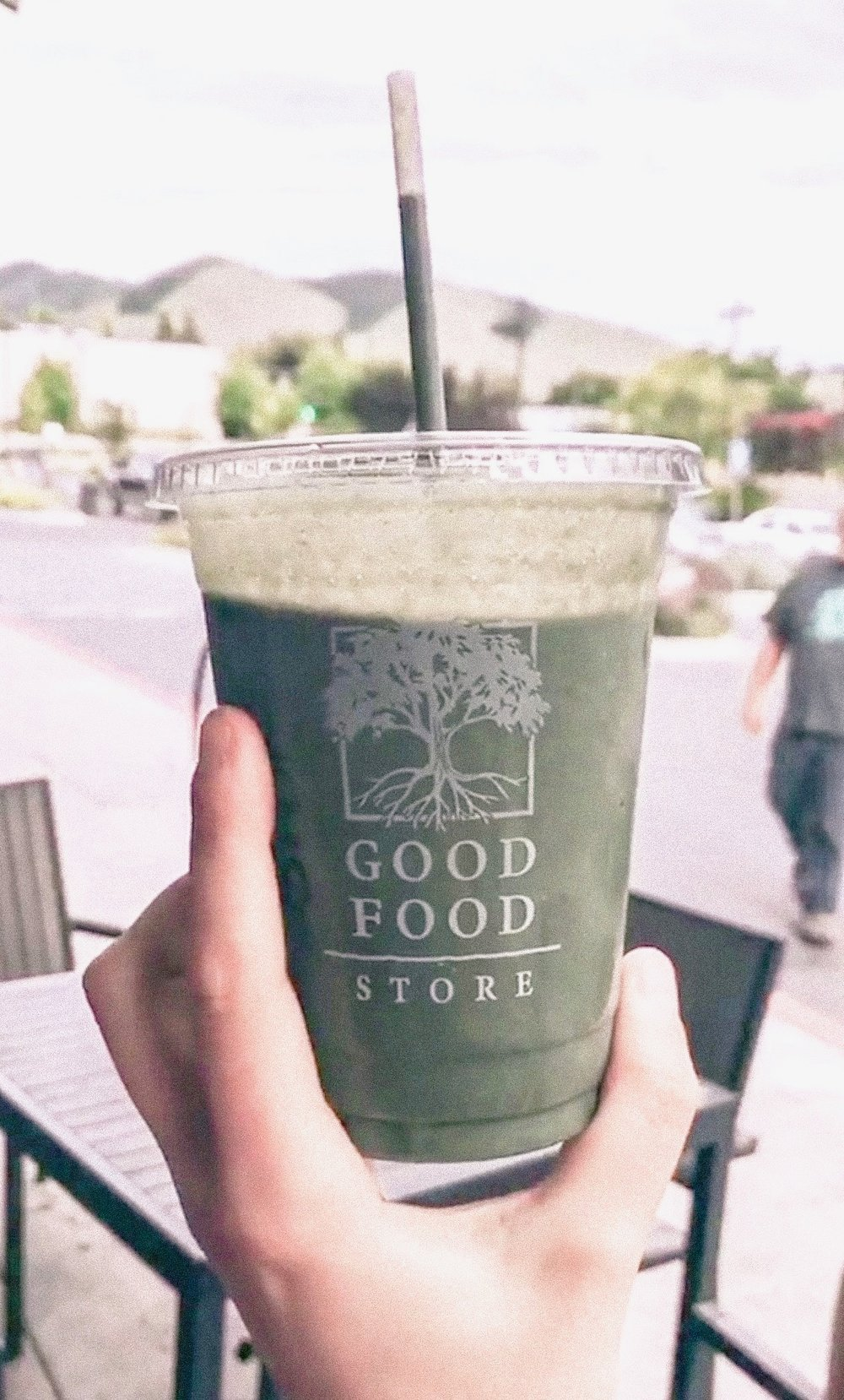 Custom Smoothie, Good Food Store - Image via Amanda Kaplan