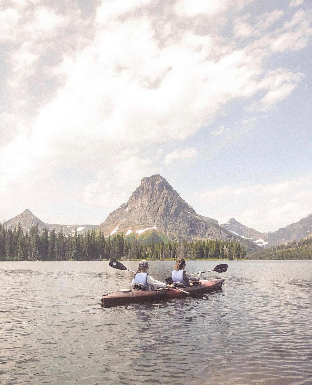 Kayaking in Montana - Image via Amanda Kaplan