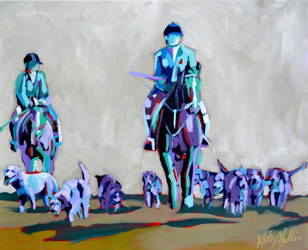 Kate Mullin Williford Horse Painting