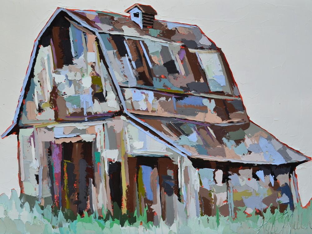 Kate Mullin Williford Barn Painting