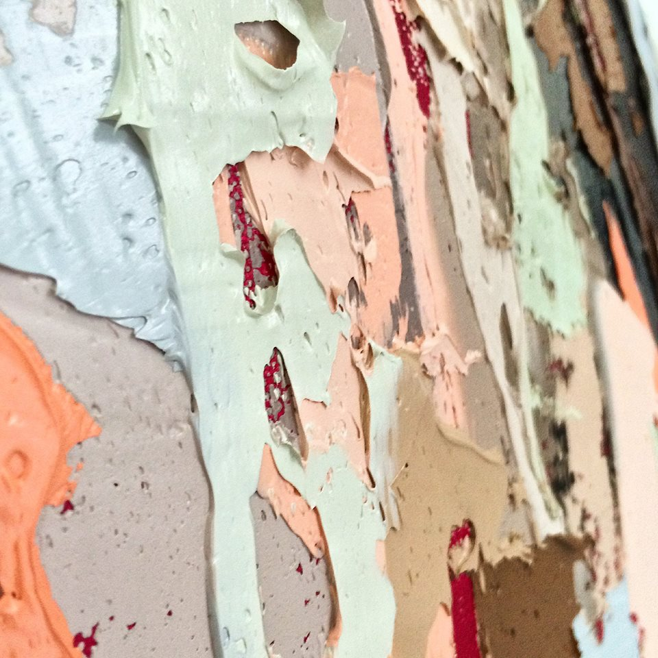 Kate Mullin Williford Thick Paint