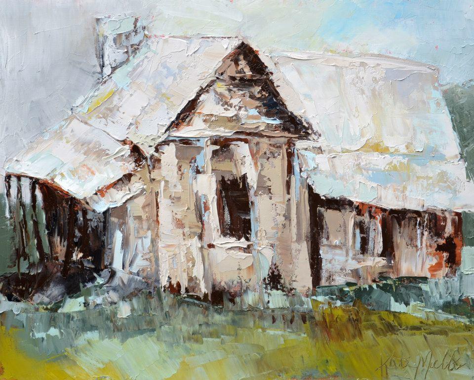 Kate Mullin Williford Barn Oil