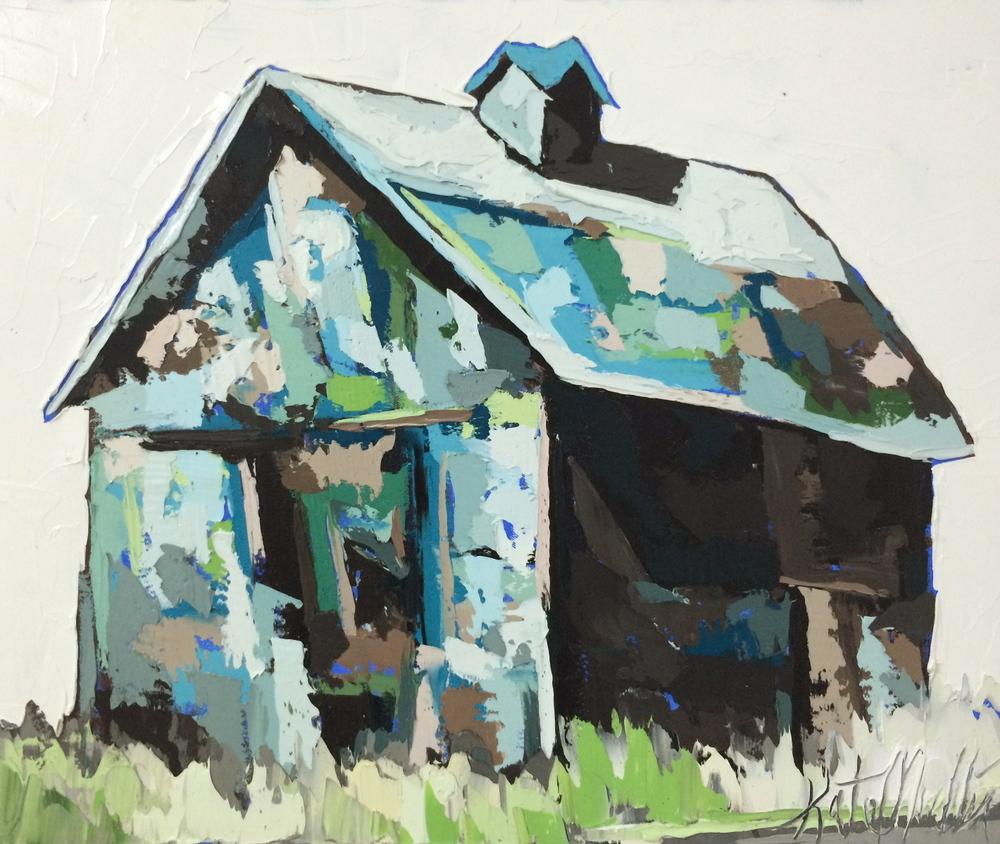 Kate Mullin Williford Painting Barn