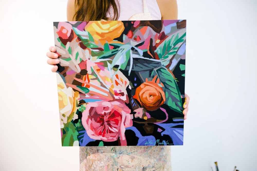 Kate Mullin Giveaway Flower Painting