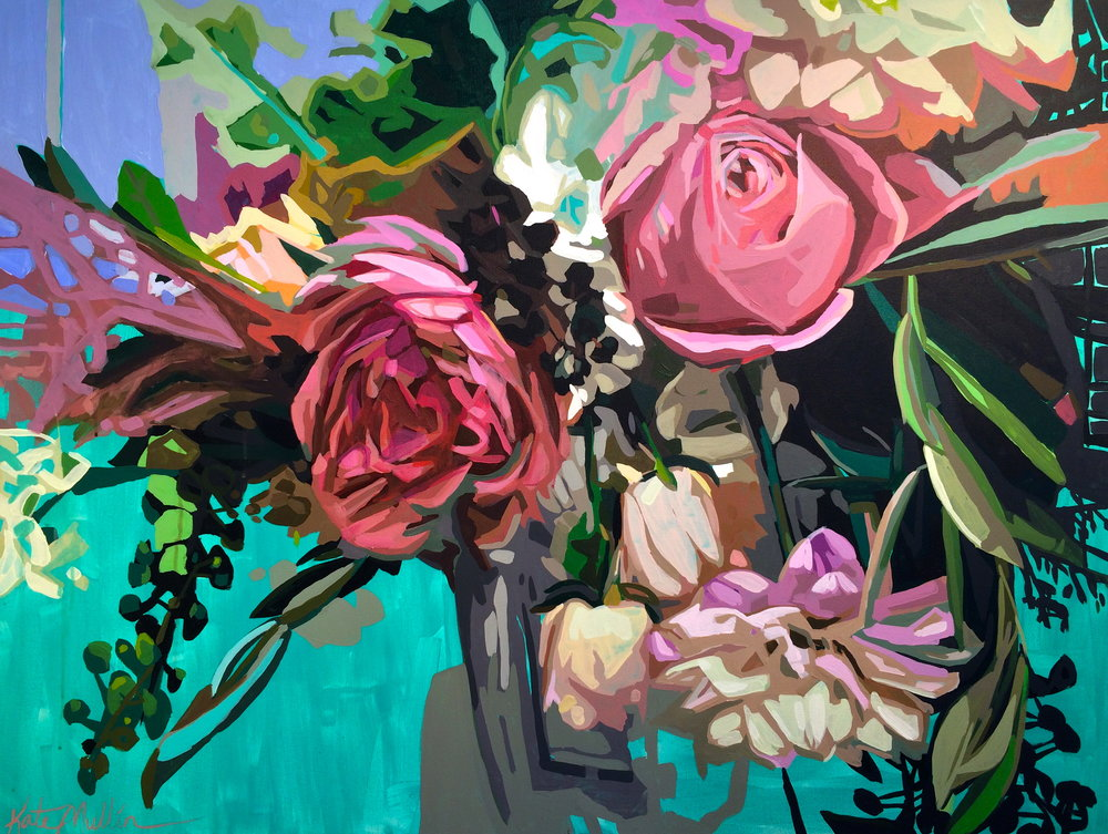 Kate Mullin Williford Flower Painting