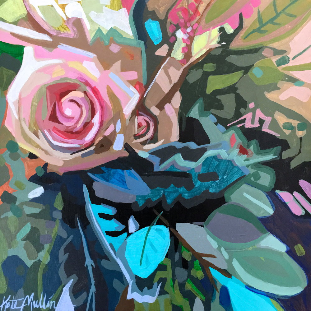Kate Mullin Flower Painting