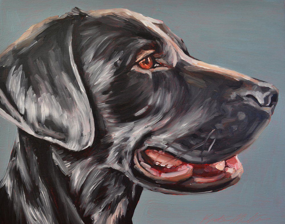 Kate Mullin Dog Painting
