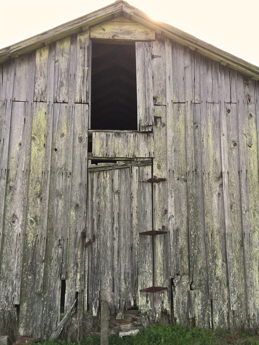 Kate Mullin Farm. Rustic Barn