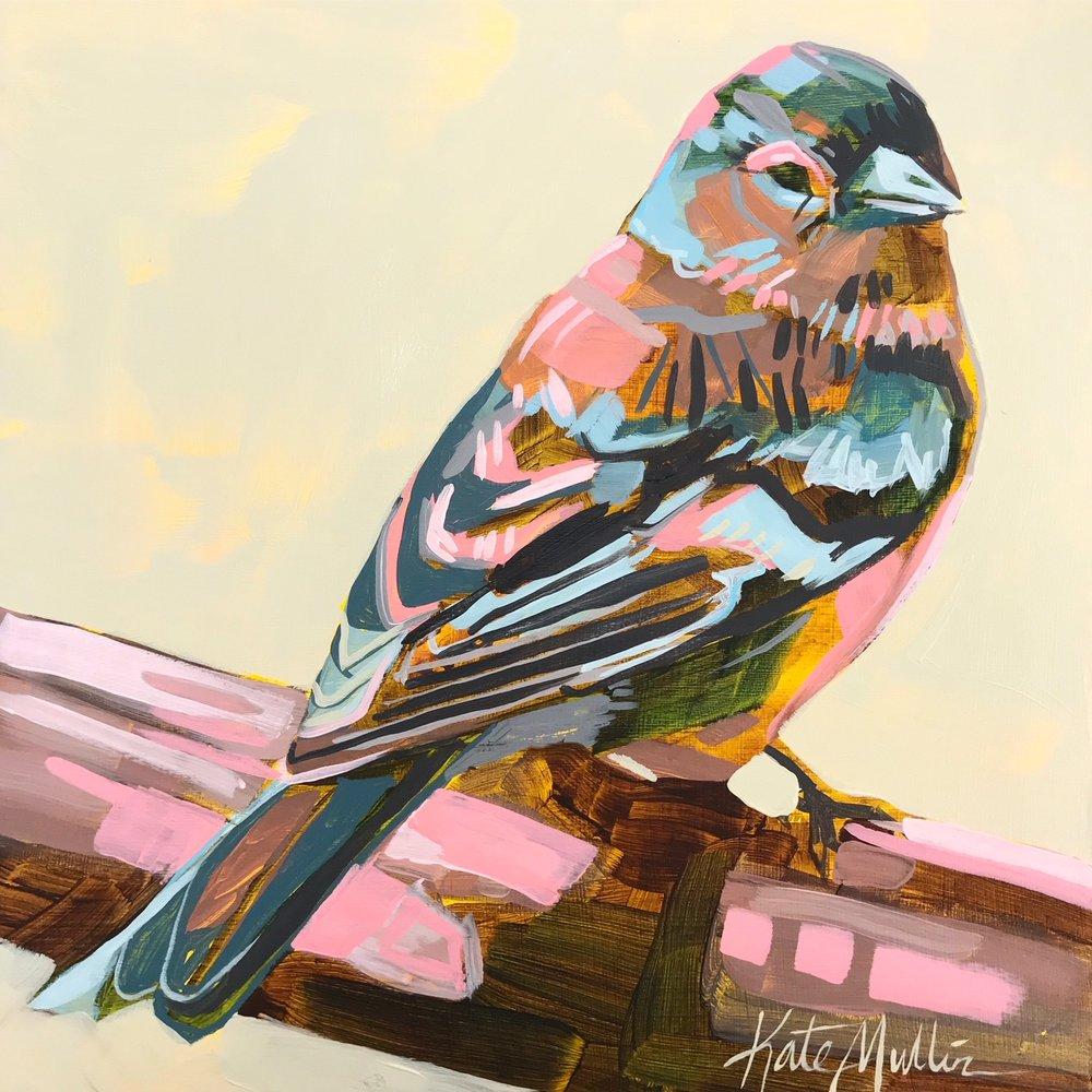 Bird Painting by Kate Mullin Williford