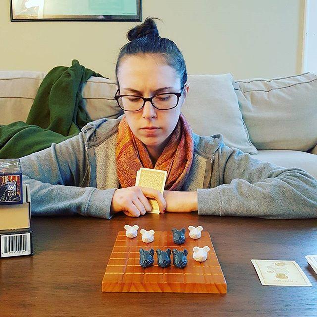 Deep thoughts during #boardgamenight. What are you playing tonight? . . . . . #dorks #dorksindungeons #d20 #dungeonsanddragons #dnd  #rpg #tabletopgames #improvcomedy #portsmouthnh #tabletoprpg #seacoastnh #dungeonworld #mouse #mouseguard #swordsandstrongholds #boardgames #burningwheel