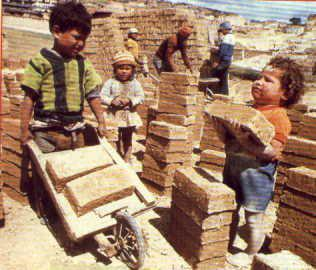 Children Working. Pic from  Wikicommons .