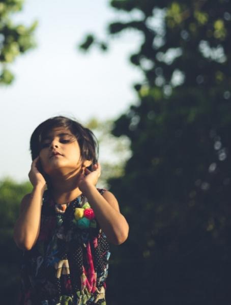 Listening. Photo by Swaraj Tiwari