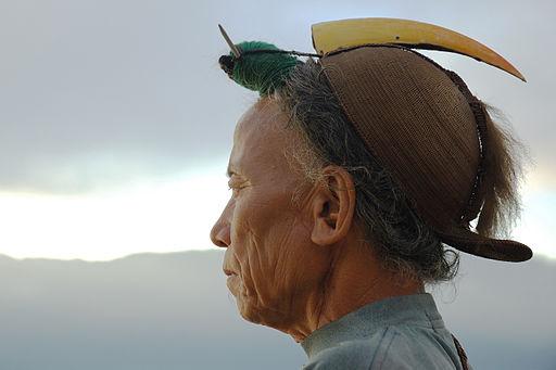 Nyishi Tribesman from Arunachal Pradesh in India. Photo by  Doniv79 .