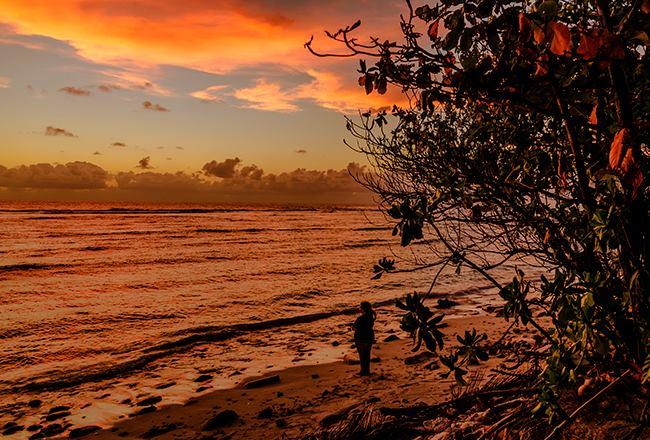 Indian Ocean Sunset Photograph © Claudia Luise 2016