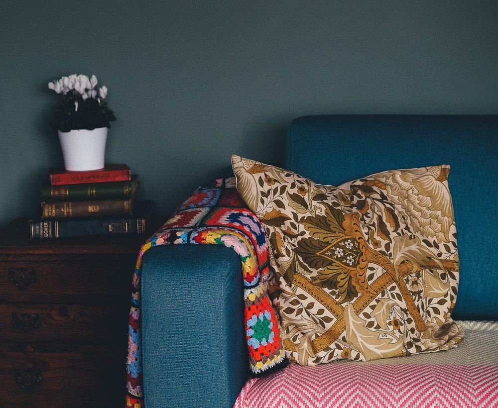 Pillow photo by  Annie Spratt .