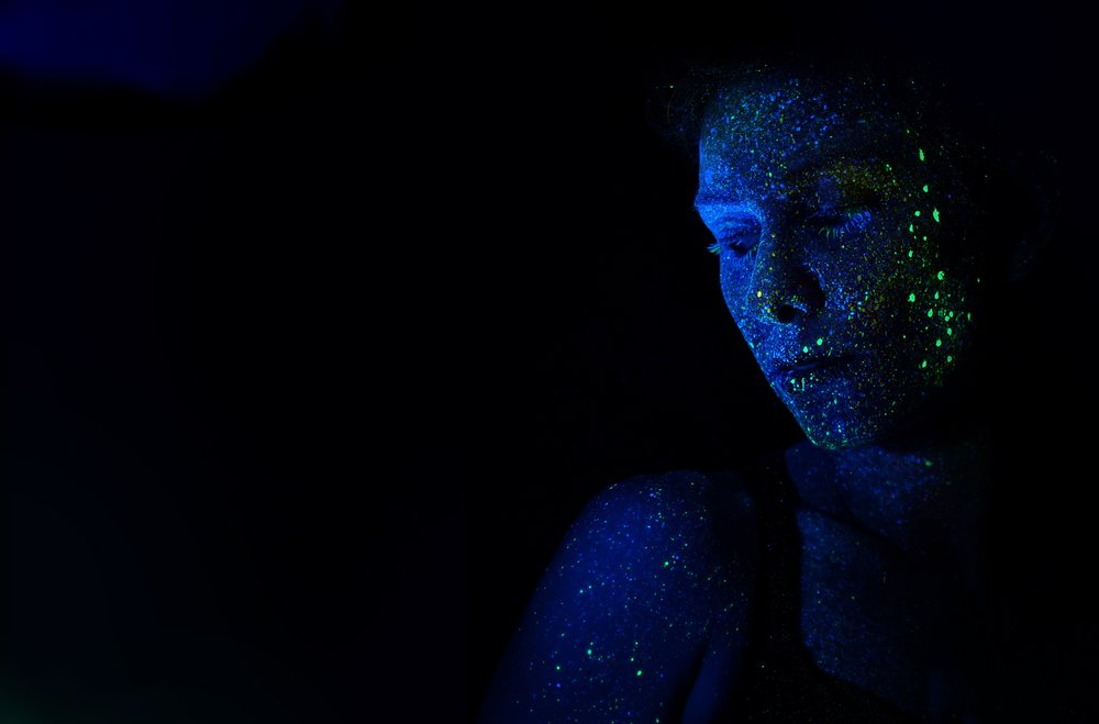 'Be that glowing human being.' Photo by  H Heyerlein