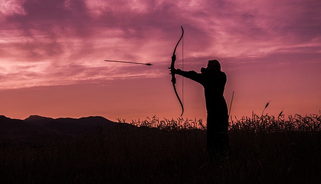 They hunted with arrows. Photo by  Paul Barlow .