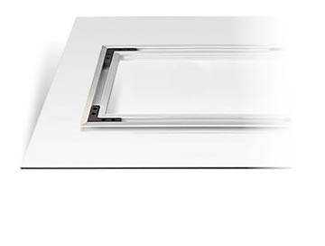 Aluminium subframe mounting solution
