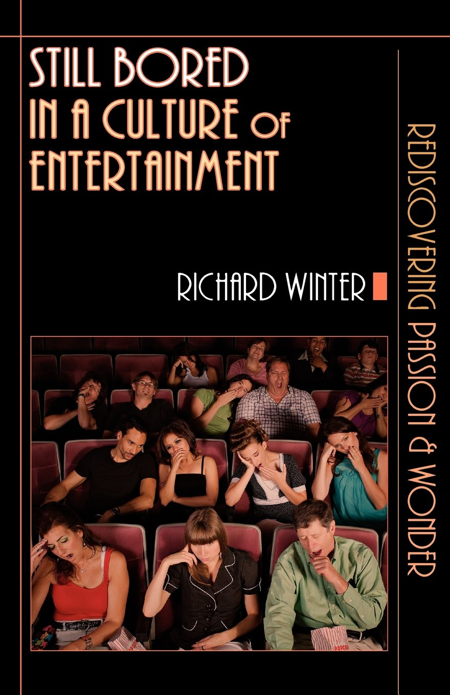 Meaninglessness Narcissism Still Bored in a Culture of Entertainment by Richard Winter