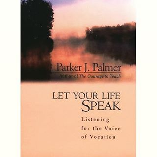 10 Books that Help:  In Let Your Life Speak, a slim, but poignant volume, Parker Palmer reflects back on his life through the lens of vocation and calling. The book powerfully explores the nature of the soul and the journey of our true selves. Palmer takes the reader through the seasons of the soul and shares his own light and insight from his own existential journey, in search of meaning and purpose. With incredible wisdom, warmth and understanding, Parker uses his own life's journey, with it's many seasons, job changes, and surprises, as an encouragement and challenge for us to listen to what our own very lives are telling us, and showing us, about our who we truly are. - Steven Carlson, GCN counselor @staulson #vocation #counseling #onlinecounseling #calling