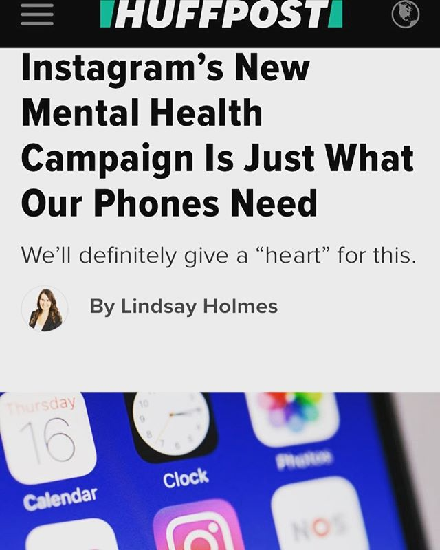 Instagram has launched a new campaign called #HereForYou during Mental Health Awareness Month. This is a great example of how technology can help us connect, empathize, and not hide. #mentalhealth #stories #onlinecounseling #counseling