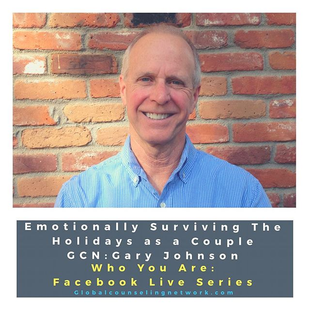"Join us, tomorrow  at 6 pmEST, for our second Facebook Live video called ""Emotionally Surviving the Holidays as a Couple."" #counseling #fblive #holidays"