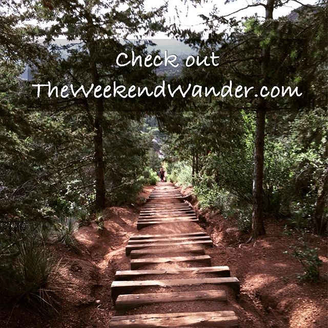 Hey everyone! Check out TheWeekendWander.com launching tomorrow! #wander #wanderlust #livegoco