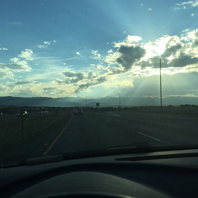 The road to #heavenfest is trying to tell me something... #nofilter @heavenfest #theweekendwander