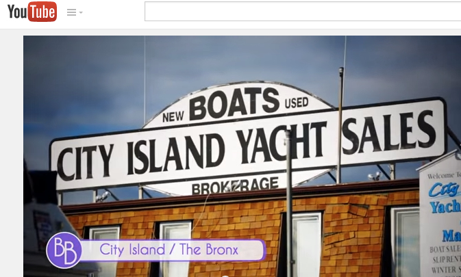 Take a video tour of City Island