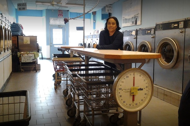Marianas On Board Laundromat  has pick up and drop off services!