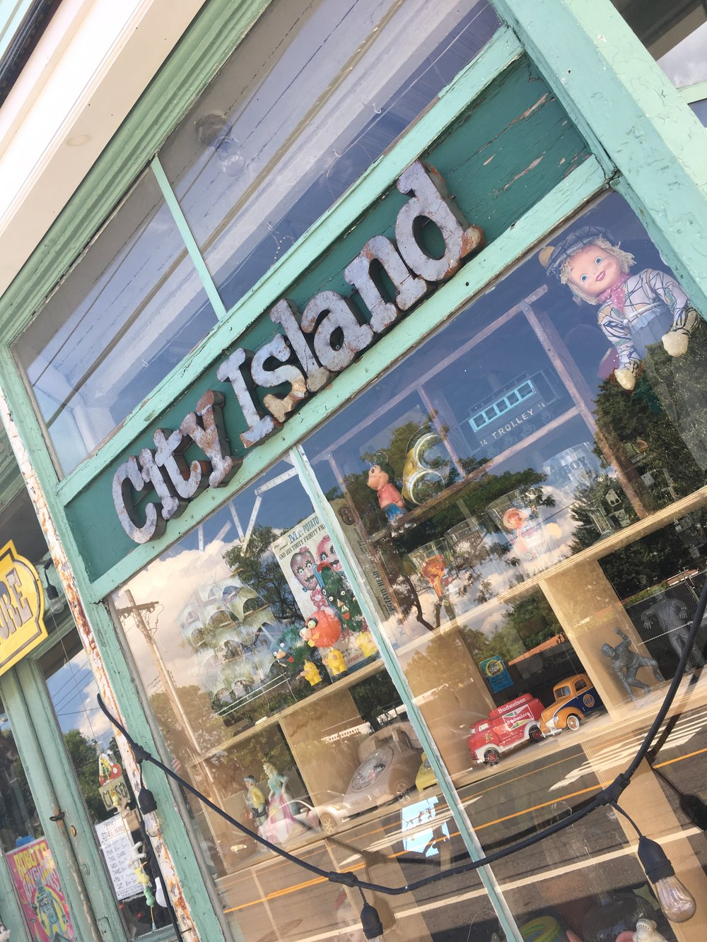 Explore the many antique and artisanal shops on the island