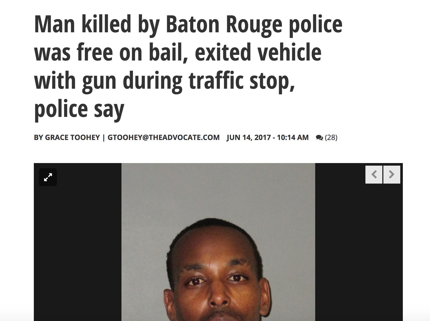 Baton Rouge Media — Campaign Zero