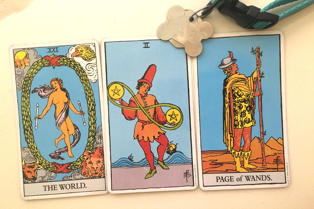 The Rider-Waite-Smith Tarot Deck.