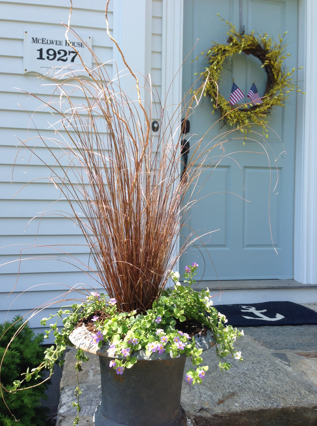 Bronze grass haven #antiquecharm (Westport CT)