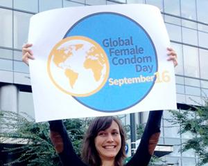 Elevating voices, raising the profile of female condoms