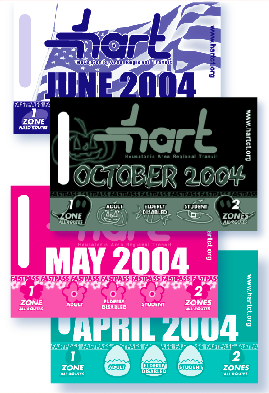 Monthly passes depicting seasonal celebrations. Increasing collectability and increasing sales.