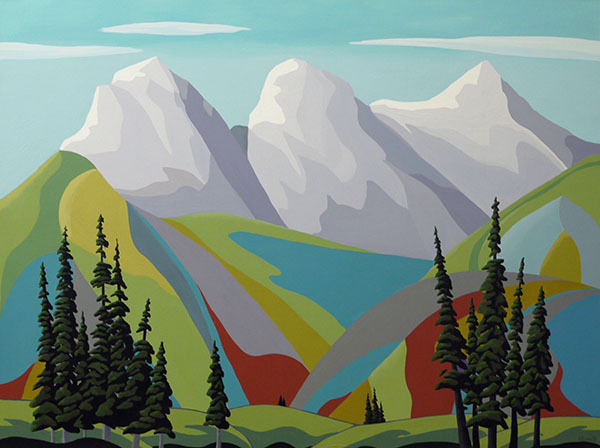 Lando Gallery - 'Canmore Sisters'