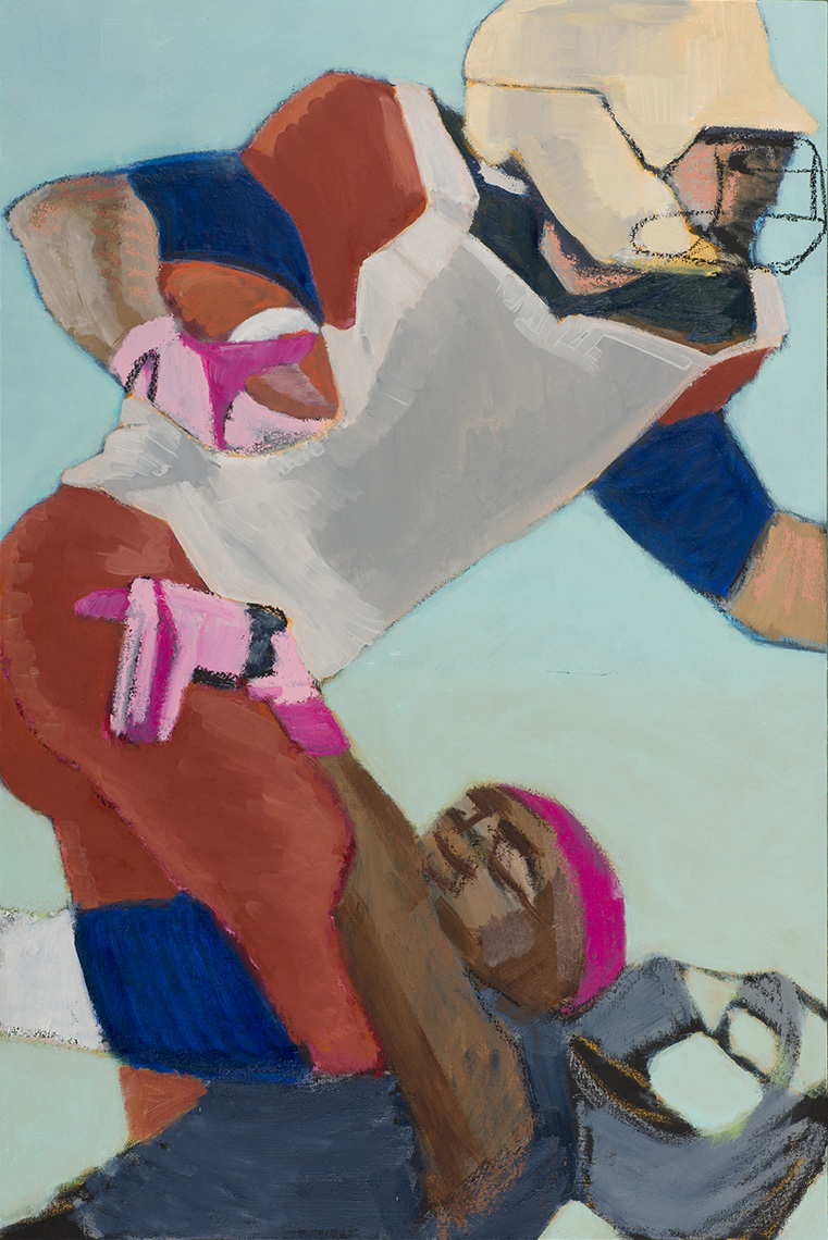 'Football 4 (pink gloves)'