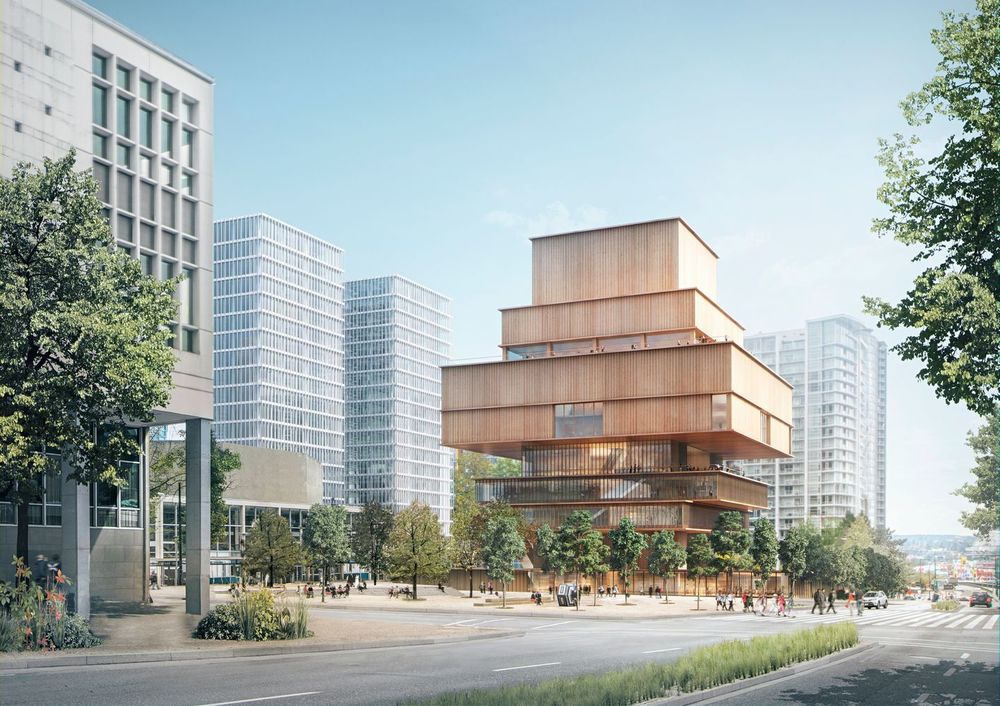 Concept Design for the new Vancouver Art Gallery