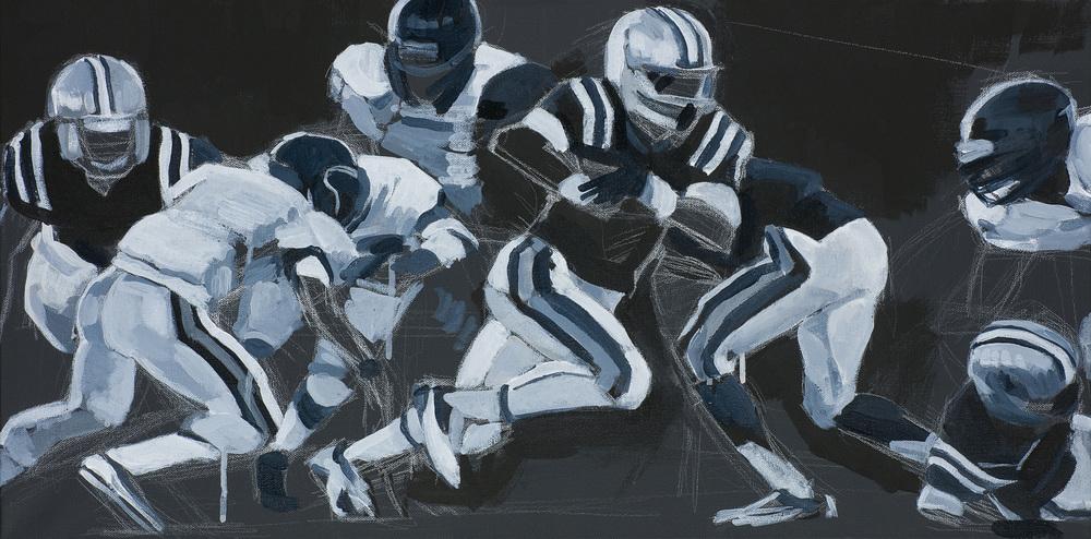 Football 11 by Riki Kuropatwa