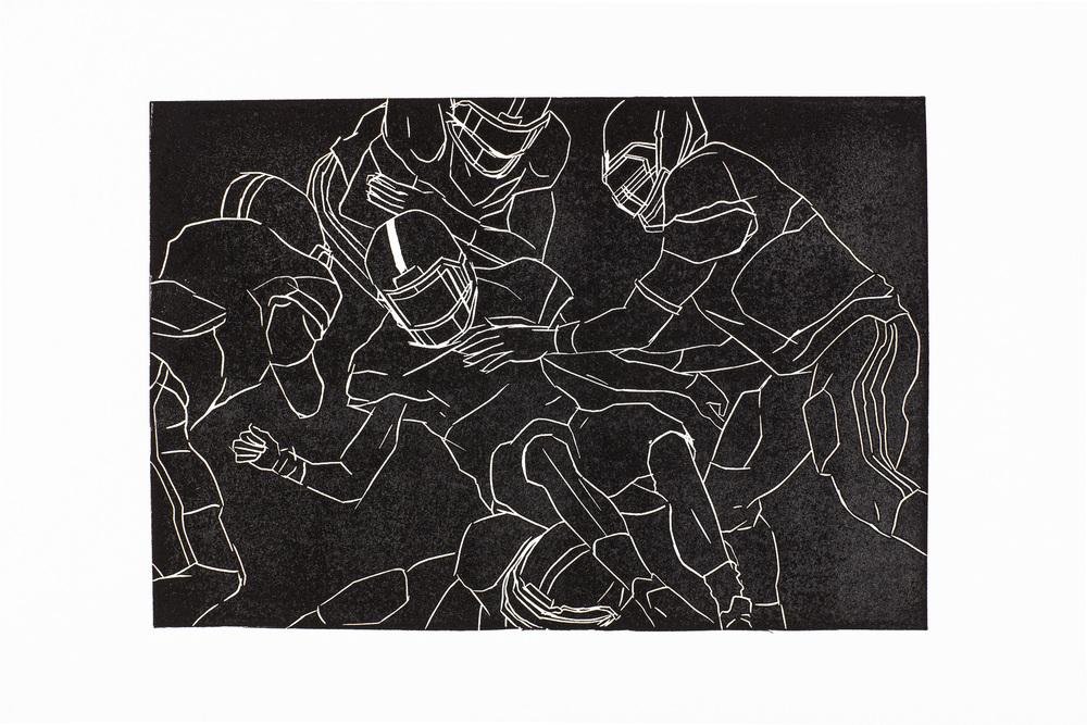 Fumble by Riki Kuropatwa
