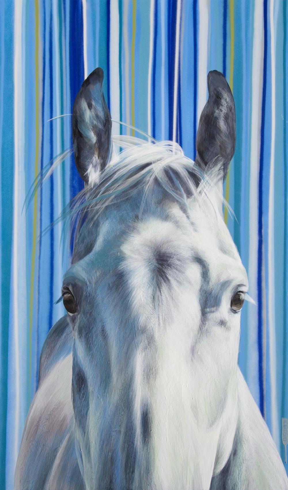 'Peek a Blue' by Pascale Ouellet