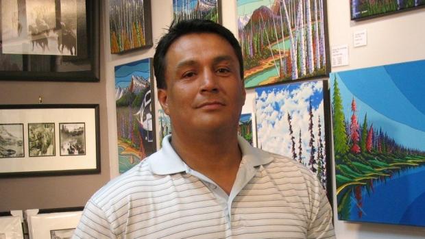 Cree Artist, Leo Arcand