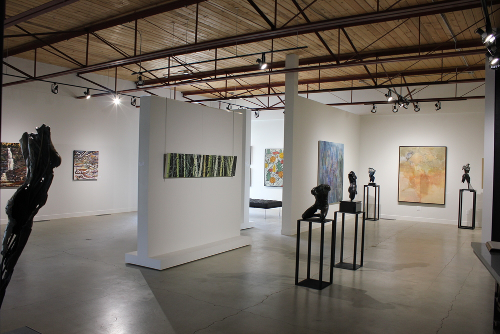 Inside the Front Gallery