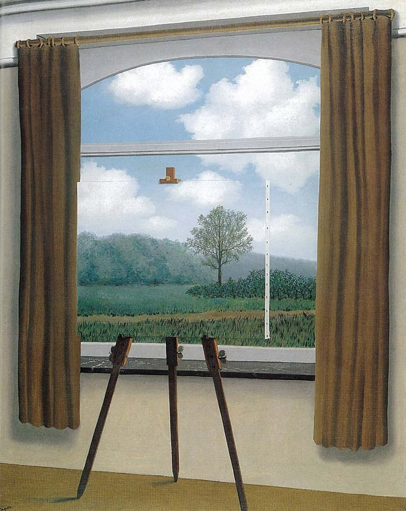 """The Human Condition"" by Rene Magritte"