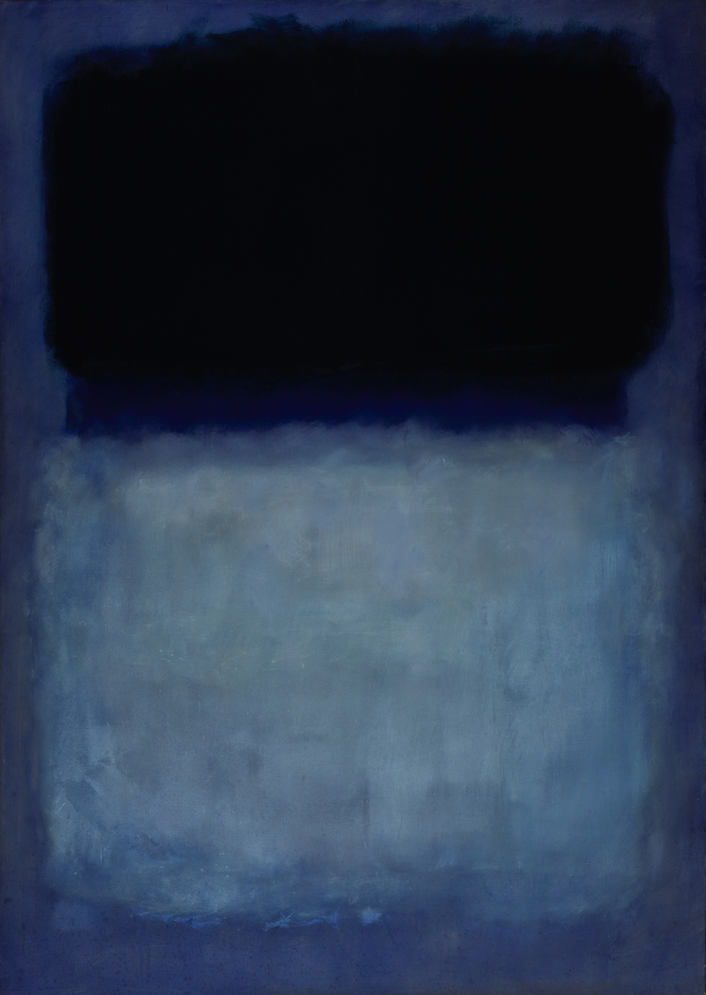 """Green on Blue"" by Mark Rothko"