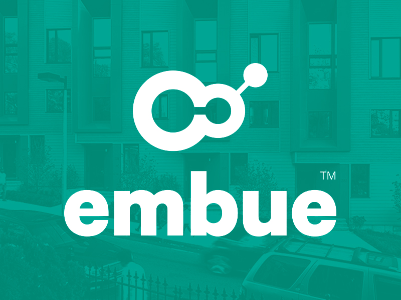 Embue Logo - Apartment Building Intelligence.