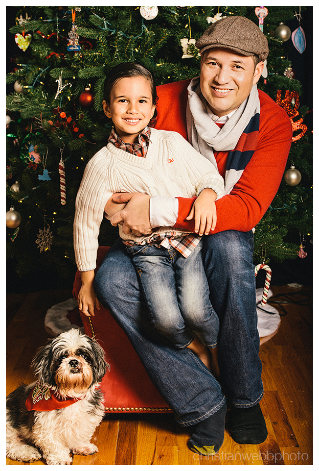 Holiday portraits, Christian Webb Photo