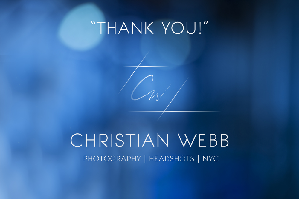 Christian Webb Photo Headshots NY