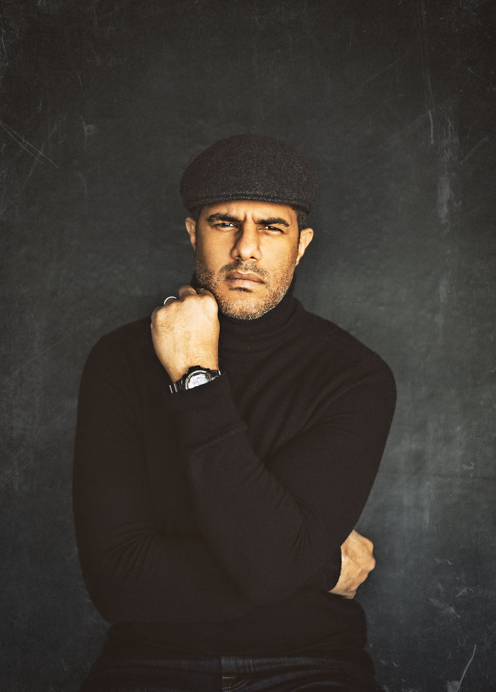 Black turtlenecks are cool!  Someone said I look like I'm modeling a watch! lol.  Well, on that note then - Shout out to G-SHOCK!